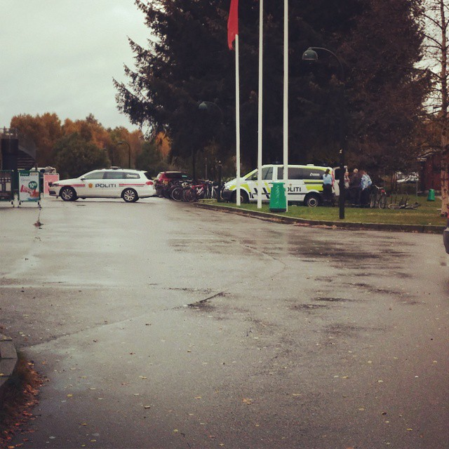 Politiaksjon på #UiA