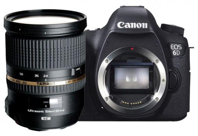 Canon 6D Tamron 24-70 VC