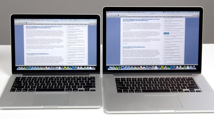 MacBook Pro 13 vs 15 Retina